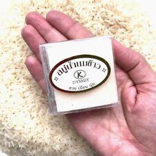 60g Thai Rice Milk Soap Bar Whitening Herbal Nature Body Skin Care Jasmine Rice