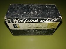 Vintage Adjust-o-Lite Solid State Electronic Dimmer Switch from 1969 Unused