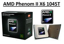 AMD Phenom II X6 1045T 6 Core Processor 2.7 - 3.2 GHz, Socket AM3, 95W CPU