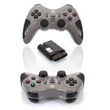 Wireless Joystick Joypad Vibration Shock Gamepad PC Game Controller for Gamer US
