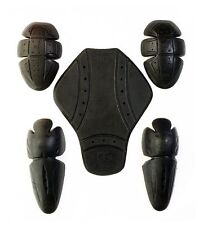 NEW CE Approved Motorcycle Armour - Shoulder & Elbow Back Inserts Motocross Free