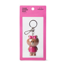 [LINE FRIENDS] Figure Key-ring CHOCO Key Chain 100% Authentic Free Tracking