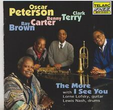 OSCAR PETERSON  CD THE MORE I SEE YOU