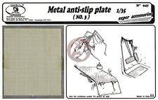 Royal Model 1/35 Metal Anti-Slip Plate No.3 [PE Diorama / AFV Accessory kit] 047