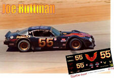 CD_2188 #55 Joe Ruttman  1978-79 Pontiac Trans Am   1:32 Scale Decals