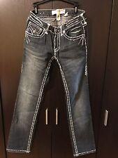 LAGUNA BEACH Womens Sz 29 BIG STITCH Flap Pockets  Jeans