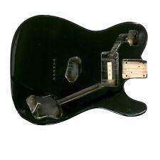 Black Telecaster Tele Custom Guitar Body | Swamp Ash Japanese Made