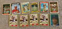 Baseball Cards Lot Hall of Fame Rookie Star Seaver Boggs Carew Sutter Gooden