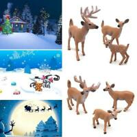 Deer Figure Christmas Doll White-tailed Reindeer Party Decoration Xmas Mode Best