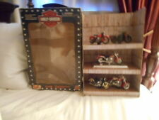NOS HARLEY DAVIDSON MOTORCYCLE 1:18 COLLECTION BY MAISTO - 5 MOTORCYCLES