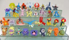55pcs Gift Pokemon Figures Mew HO-HO Groudon LATIAS LATIOS Dialga Mudkip Celebi