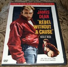 Rebel Without a Cause 2 Disc DVD James Dean 1955 Special Edition Natalie Wood