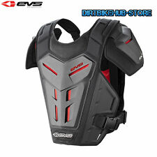 NEW EVS REVO 5 ADULT BODY ARMOUR CHEST PROTECTOR BLACK MX MOTOCROSS ROOST GUARD