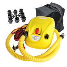 High! 12V Electric Pressure Air Pump For Inflatable Boats Rafts Kayaks Kite