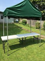 1m x 2m Unique Gazebo pop up canopy specially designed for Car Boot Sales