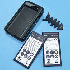2x 5400mA Standard Battery+Wall Charger F AT&T Samsung Galaxy S5 Active SM-G870A