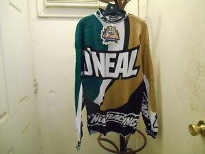 NOS O'neal Sportwear Men's Size Extra Large Long Sleeve Shirt Jersey 16559