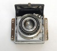 Carl ZEISS IKONTA 522/24 Lens Assembly XENAR 45mm f/2.8 Vintage Camera Parts