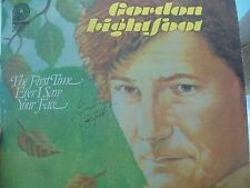Gordon Lightfoot Signed 1979 album