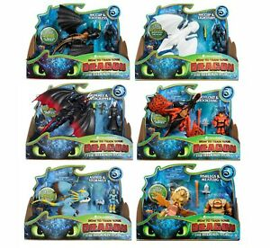How To Train Your Dragon The Hidden World Dragon & Viking Toothless Stormfly Etc