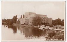 Warwickshire; Memorial Theatre, Stratford on Avon RP PPC 1937 PMK, By Salmon