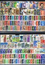 GRANDE BRETAGNE  lot 11-160 timbres
