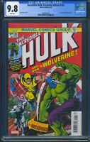Incredible Hulk 181 (Marvel) CGC 9.8 White Pages Facsimile Edition Reprint