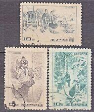 KOREA 1967 used SC#797/99 set, Revolutionary paintings.