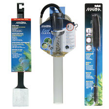 Marina Aquarium Cleaning Kit - Large Algae Scrubber - Gravel Cleaner - Brushes