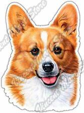 "Welsh Corgi Dog Pet Canine Pets Animal Car Bumper Vinyl Sticker Decal 3.5""X5"""