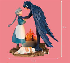 Anime Howl's Moving Castle Hauru & Sophie PVC Figure Statue Model Toy In Box