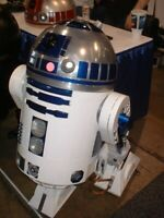 Life Sized R2D2 / Star Wars CNC plans BENEFITS CHARITY