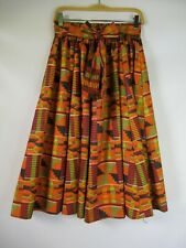 F3426 VTG Women's Bohemian Aztec Skirt FREE SIZE