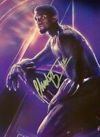 Chadwick Boseman Autographed Signed 8x10 Photo ( Black Panther ) REPRINT