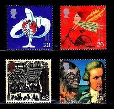 SELLOS  GRAN BRETAÑA  1999 2070/73 MILLENNIUM COOK 4v.