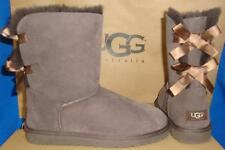 UGG Australia Chocolate Brown Bailey Bow Boots Size US 5,EU 36 NEW #1002954
