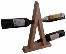 RTA 6 Bottle Natural Pine Wooden Floating Wine Rack Magic Wine Bottle Holder