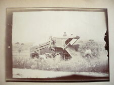 PHOTO  1890 MACHINE AGRICOLE
