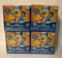 Nickelodeon Paw Patrol Mini Figures Blind Box Series 4 Lot of 4, NEW