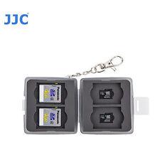 JJC MC-11d Small Memory Card Case fits 4 SD 4 MSD T6I T7I 70D 80D D5500 D3300 T6