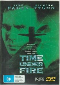 Time Under Fire DVD 1997 Jeff Fahey Movie 90's Sci Fi - EX-RENTAL - Pal Regions