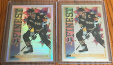 1995-96 Topps Mystery Finest Mario Lemieux & Mystery Finest Refractor #M2