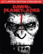 Dawn of the Planet of the Apes [Includes Digital Copy] [Blu-ray] [SteelBook]