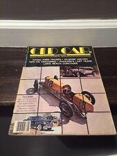 Vintage Old Car Illustrated Magazine September 1977 Volume 3 Number 4