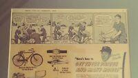 1957 MICKEY MANTLE Junior Sales Club of America Boys Life Magazine Ad Framed