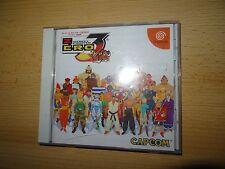 Street Fighter Zero 3 Saikyo-ryu Dojo Sega Dreamcast DC Japan Import