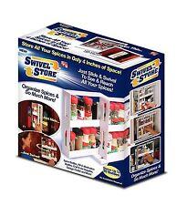 Swivel Store Organizer Spice Rock Storage System New In Box