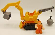 Moon Sand Demolition plastic Backhoe with Driver Preowned