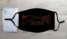 The Bang Bang Bar face mask (Twin Peaks, David Lynch, Dale Cooper, Laura Palmer)