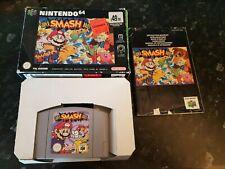 Nintendo 64Super Smash Bros BOXED COMPLETE